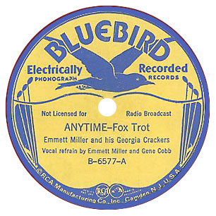 Historic Music Library : 78RPM Label Gallery - Examples Of