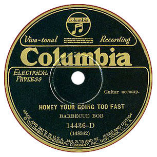 Historic Music Library 78rpm Label Gallery Examples Of